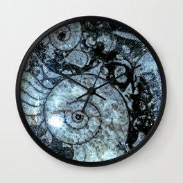 Goniatite Ammonite Wall Clock