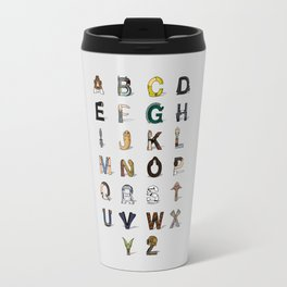 Star W. alphabet Travel Mug
