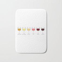Wine Spectrum Bath Mat