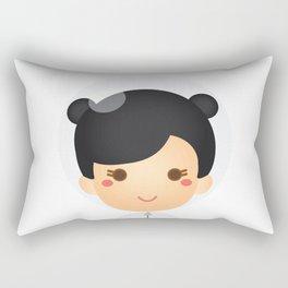 The Astro Girl Rectangular Pillow