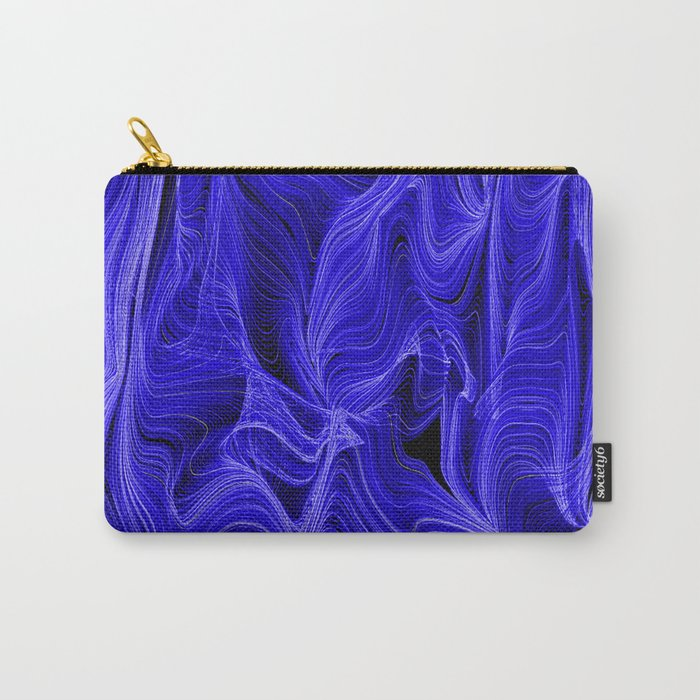 Midnight Blue Mist Carry-All Pouch
