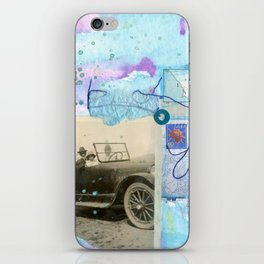 a day by the sea iPhone Skin