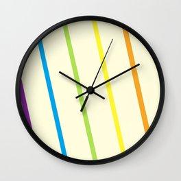 Finding the Rainbow Wall Clock