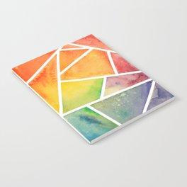 Rainbow Watercolor Notebook