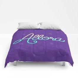 Cool Word Comforters