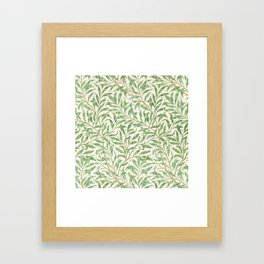 Willow Bough Framed Art Print