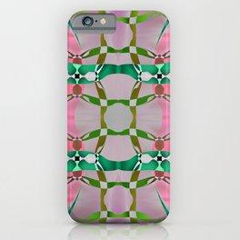 Garden of Sweetness Retro Geometric Psychedelica iPhone Case
