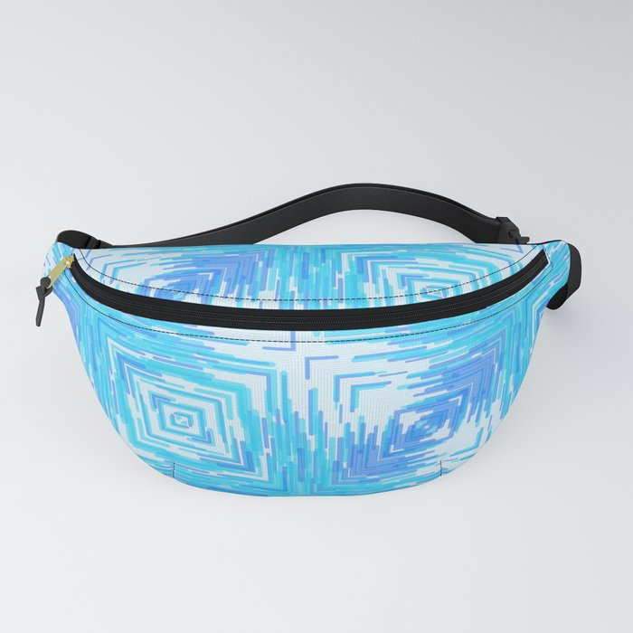 Solar Rays Squared - Blu Fanny Pack