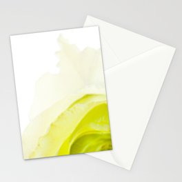 Green Rose Stationery Cards