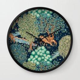 "William Morris ""The Brook"" Wall Clock"
