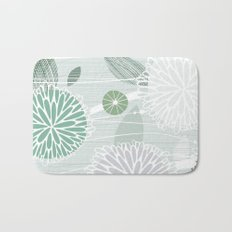 Abstract Floral by Friztin Bath Mat
