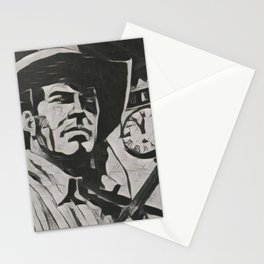 Tex Willer Artistic Illustration Guernica Style Stationery Cards