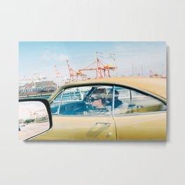 Fremantle Bridge Metal Print