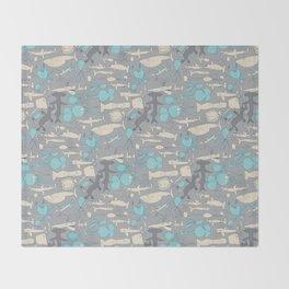 Sea life Throw Blanket