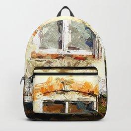 Haus mit Garten Backpack