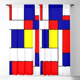 Mondrian #38 Blackout Curtain