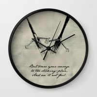 shakespeare Wall Clocks featuring Macbeth - Shakespeare by pithyPENNY