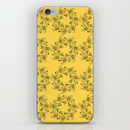Floral Wreath iPhone Skin