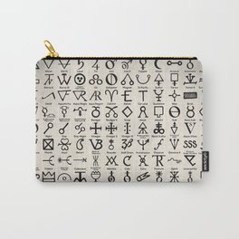 Symbols of Alchemists Carry-All Pouch