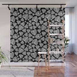 Black White Pattern Wall Mural