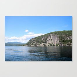 Summer's End: Roger's Rock on Lake George Canvas Print