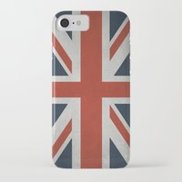 union jack iPhone & iPod Cases featuring Union Jack by Tom Schoffelen