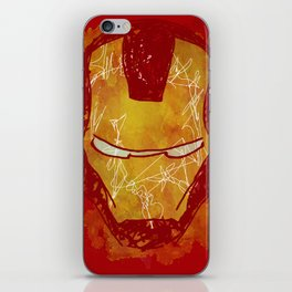 The Iron Mask iPhone Skin
