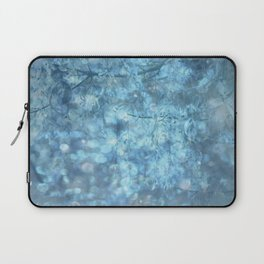 MYSTICAL BLUE WINTER Laptop Sleeve
