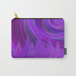 Purple mountains Carry-All Pouch