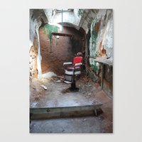 dentist Canvas Prints featuring Prison Dentist by Edward Ilsen