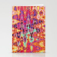 tie dye Stationery Cards featuring Tie Dye  by Ingrid Padilla