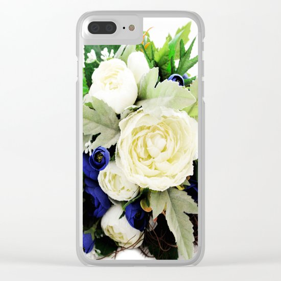 Flowers # Clear iPhone Case