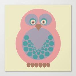Expectant Owl vers. 2 Canvas Print