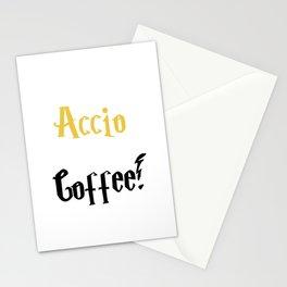 Accio Coffee! (Gold) Stationery Cards
