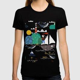 Pirates Ahoy Pink T-shirt