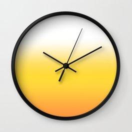 Sunrise Ombre Wall Clock