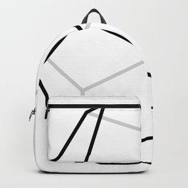 D12, White Backpack