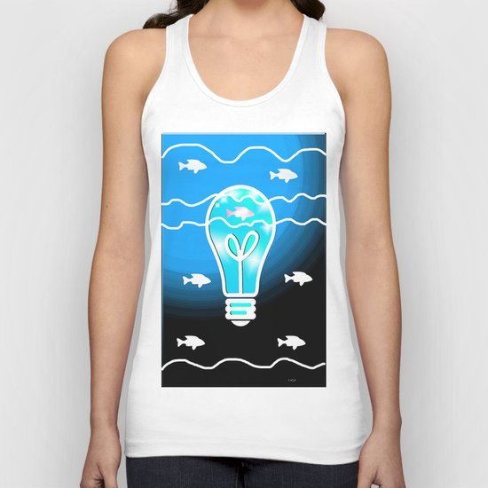 Shine the Way Unisex Tank Top