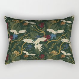 JUNGLE GREEN Rectangular Pillow