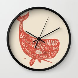 'How the Whale Got His Throat' Wall Clock