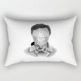 I Can't Drown My Demons Rectangular Pillow