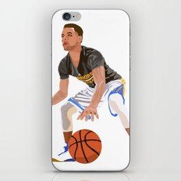 Steph Curry - NBA CUBISM iPhone Skin