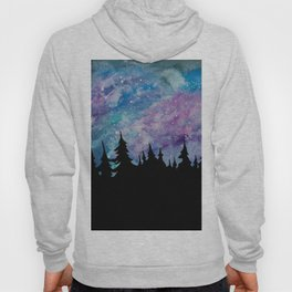 Galaxies and Trees Hoody