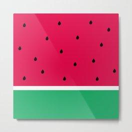 Simply Watermelon Metal Print