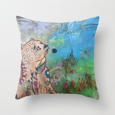 Reimagined: Beacon of Hope Throw Pillow