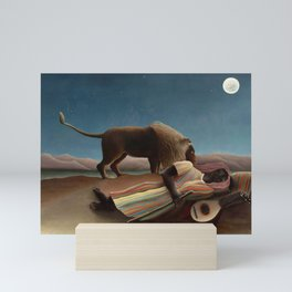 Henri Rousseau - The Sleeping Gypsy Mini Art Print