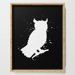Owl - Graphic Fashion Serving Tray