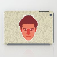 buffy the vampire slayer iPad Cases featuring Angel - Buffy the Vampire Slayer by Kuki
