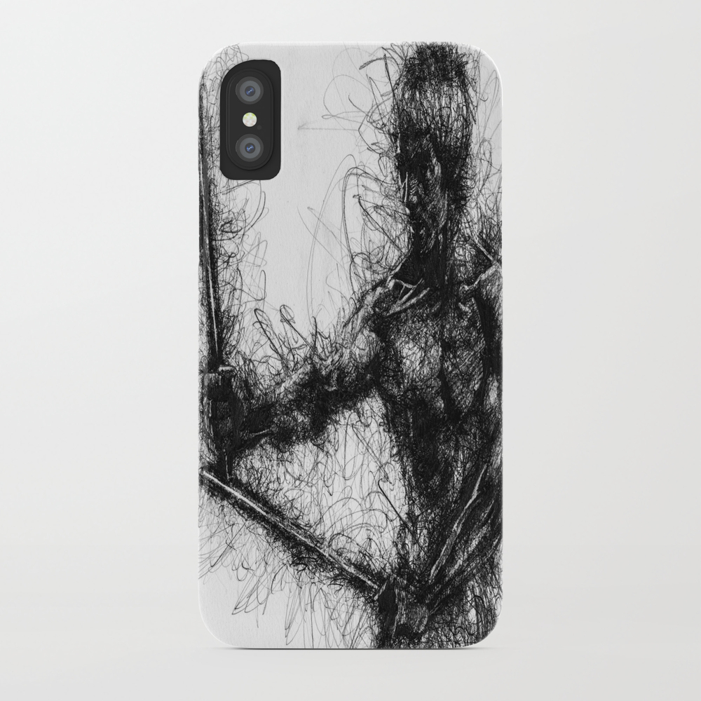Bruce Kung Fu Master Lee, Drawing, Wall Art, Kung … Phone Case by Juliolucas PCS8502345
