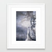 buddha Framed Art Prints featuring Buddha by LebensART Photography